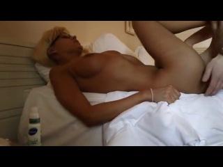 Зачётная порнушка с гламурной блонди